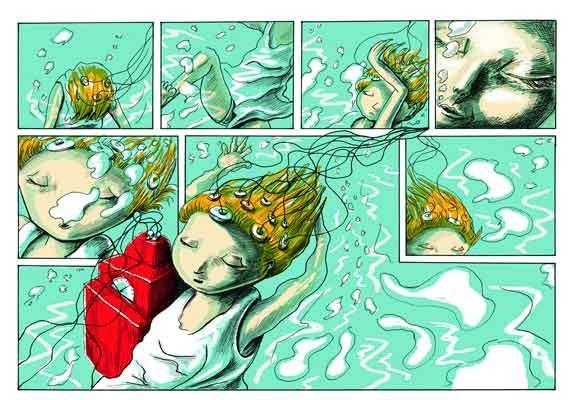 Traumfabrik, Tina Brenneisen, Comicroman, Parallelallee Verlag 2014