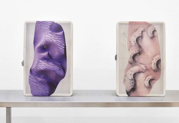 Hesitant Hand, Pakui Hardware, 2017, Installationsansicht, Detail, Kunsthalle Basel, Basel, Foto: Pakui Hardware