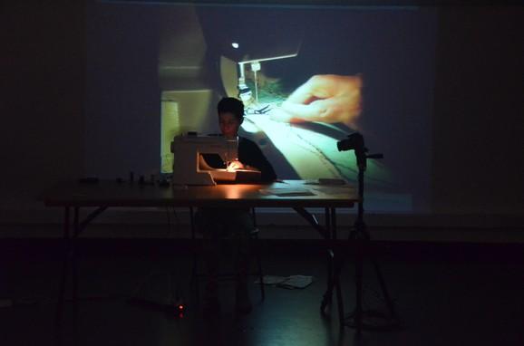 Map Series, Ana Mendes, performance, Errant Bodies, Berlin, March, 2016, photo: Franziska Becher