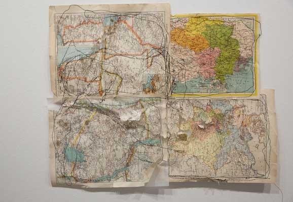 Map Series , Ana Mendes, Performance, Kunstraum Niederösterreich, Vienna, 2016, photo: esel@esel.at