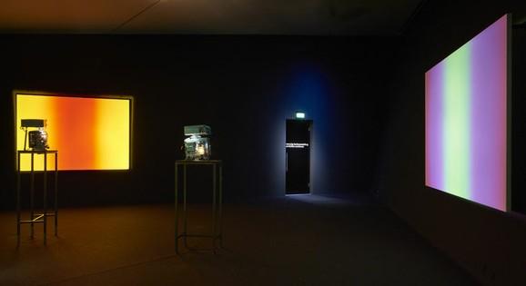 Available Light Series, Installation view at EYE Filmmmuseum, Amsterdam, 2016. Photo by Studio Hans Wilschut. Courtesy of EYE Filmmuseum.