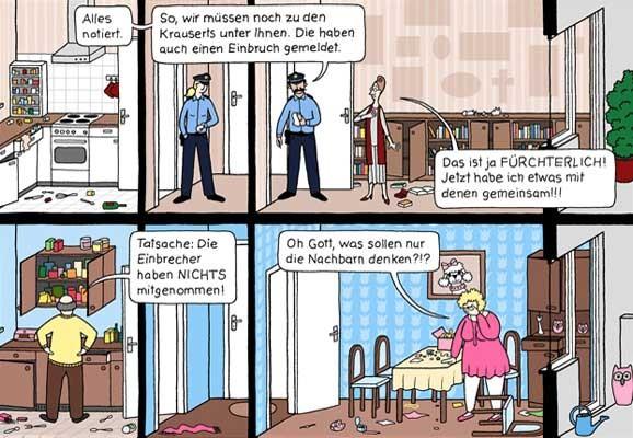 Das Hochhaus, Katharina Greve, webcomic, 2016