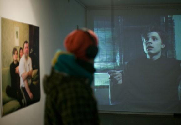 "Stiv, Superstar , Madis Luik, photo: Madis Luik, exhibition view ""Stiv, Superstar"", Hobusepea Galerii, Tallinn 2010"
